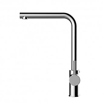 Kitchen Single-lever Sink Mixer With High Swivel Spout - 52