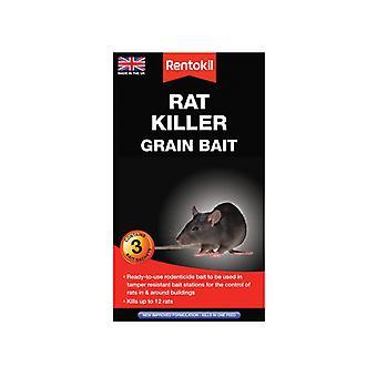 Rentokil Rat Killer Grain Bait 3 Sachets RKLPSR32