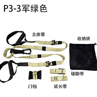 Multifunctional Suspension Training Belt Abdominal Muscle Strength Training Resistance Band Fitness Equipment Pull Rope Yoga Pull Belt
