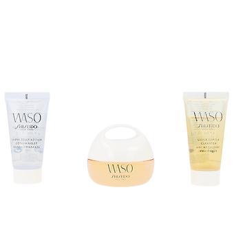 Shiseido Waso Claro Mega Hydrating Cream Set 3 Pz para mujeres
