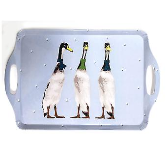 Home Living Tea Tray 3 Ducks HH2376