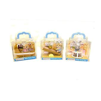 Sylvanian Families Baby With Accessory, Bear, Cat or Panda