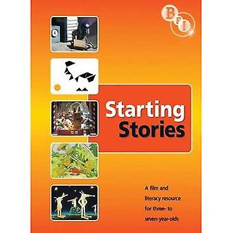 STARTE STORIES BOK FOR Å GÅ MED DVD BR0