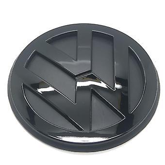 Gloss Black VW Volkswagen Golf MK4 Rear Boot Tailgate Badge Emblem 115mm 1998-2004
