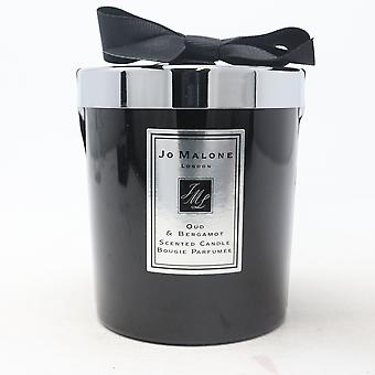 Jo Malone Oud & Bergamot Scented Candle  7.0oz/200g New With Brown Box