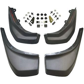 Set med främre och bakre mudflap, Mud Flaps Kit för Range Rover Evoque Vplvp0065 & Vplvp0069