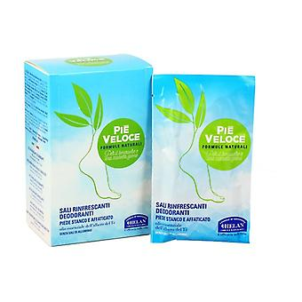 Pie Veloce Refreshing Salts Deodorants 6 packets of 300ml