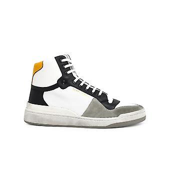 Saint Laurent 6106181jzb09664 Männer's Multicolor Leder Hi Top Sneakers