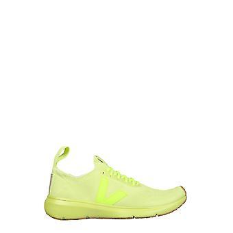 Rick Owens Vm20f3800kve52 Men's Yellow Wool Sneakers