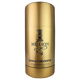 Paco rabanne miljoona deodoranttikeppiä miehille 2,3 oz