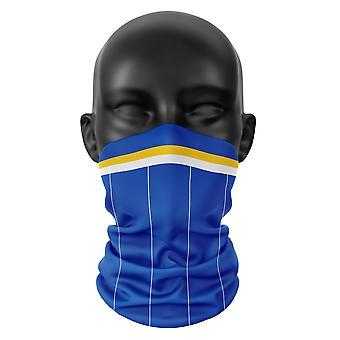 Brighton Fußball Snood Gesicht Maske Schal Neckerchef Kopfbedeckung Buff Kopfbedeckung Tube