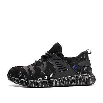 الصلب إلى Toe واقية مكافحة تحطيم العمل ثقب دليل على سلامة الأحذية