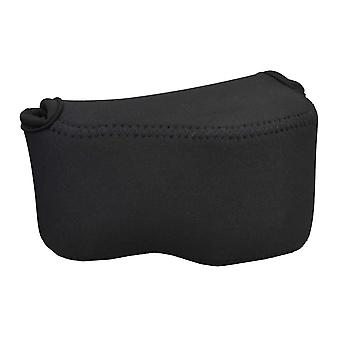 Jjc oc-s1bk ultra light neoprene black camera case bag for sony a5000, a5100, a6000 + 16-50mm (selp1