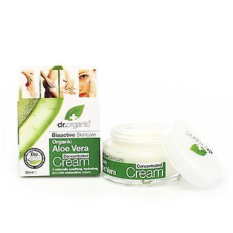 Dr. Organic Aloë Vera Crema Geconcentreerd 50 ml Unisex