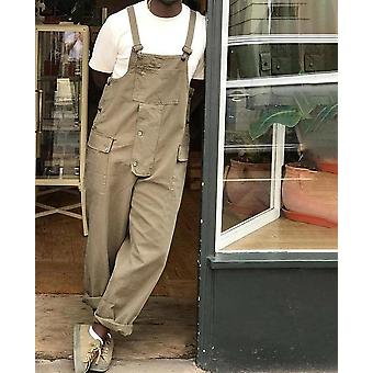 Jumpsuit Streetwear Bib Pant