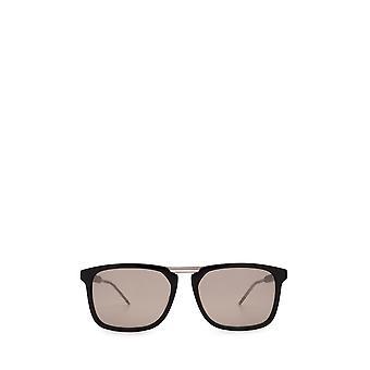 Gucci GG0842S czarne męskie okulary przeciwsłoneczne