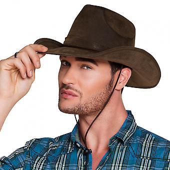 Cowboy Hat Utah Polyester Brown One-Size