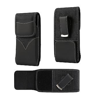 Neue Stil Nylon Gürtel Holster mit Schwenk Metall Clip für Elephone S7 Mini