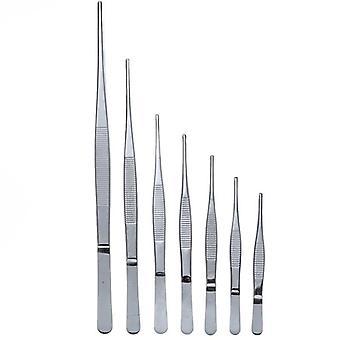 Anti-iodine Medical Tweezers Long Straightceps