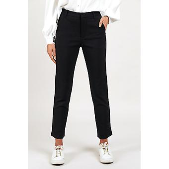 Louche Joele Slim Fit Trouser Black