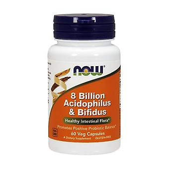 8 billion acidophilus and bifidus 60 capsules