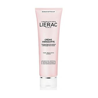 Mousse make-up remover cream 150 ml of cream (Floral)