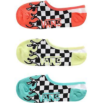 Vans Girls 3 Pack Light It Up Canoodle Ankle Trainer Pop Socks - 13.5K-3.5 Royaume-Uni