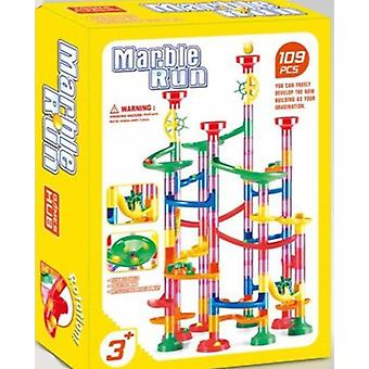 Marble Race Run Track - Construction Building Blocks Toy