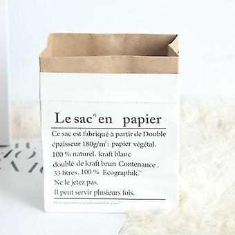 Creative Nordic Style, Craft Paper Storage Bag