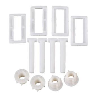 Tampa do assento de plástico dobradiça blind hole parafusos de porca retangular