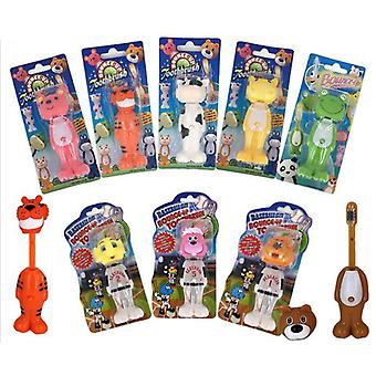 Baby Animal Silicone Soft Bristle Toothbrush Mouth Clean Baby Teething Training