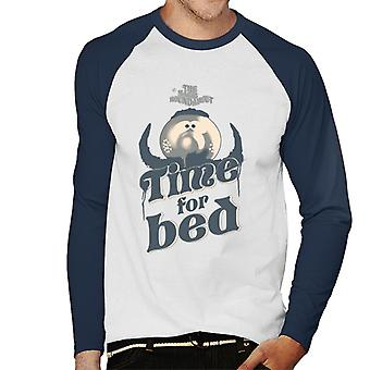 The Magic Roundabout Zebedee Time For Bed Men's Baseball Long Sleeved T-Shirt