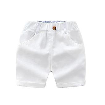 Baba nyári rövid stílusú nadrág hűvös alkalmi felsőruházat rugalmas puha rövidnadrág