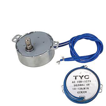 Pequeno Motor Síncromo AC 110V 10-12RPM 50/60Hz 4W CCW/CW TYC-50 Torque 2kgf.cm