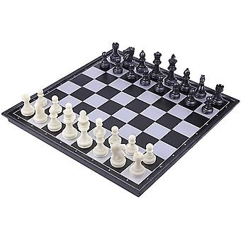 Gerui Portable Chessboard Folding Board Chess Game International Chess Set For Party Family