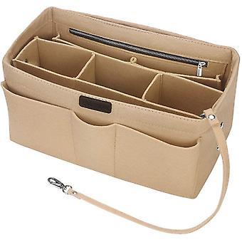 Handbag Organiser Insert, Betoores Felt Insert Bag Organiser Bag in Bag Organizer with Detachable