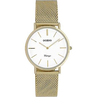 Oozoo - Women's Watch - C9911 - Gold White