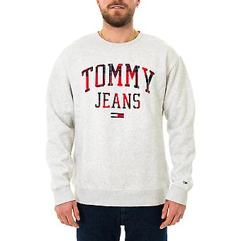 Tommy farkut tjm ruudullinen tommy graafinen miehistö collegepaita dm0dm09429.pj4