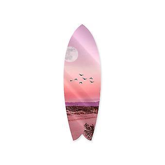 Dreamy desert surfboard