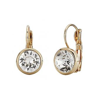 Traveller Drop Earring - Leverback - 22ct Gold Plated - 157042 - 443