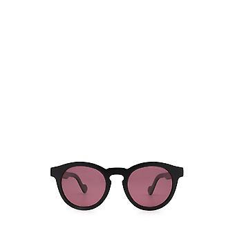 Moncler ML0175 gafas de sol unisex negras brillantes