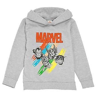 Marvel Avengers Boys Sketch Pullover Hoodie