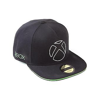 Microsoft - Listo para jugar Unisex Snapback Baseball Cap - Negro/Verde