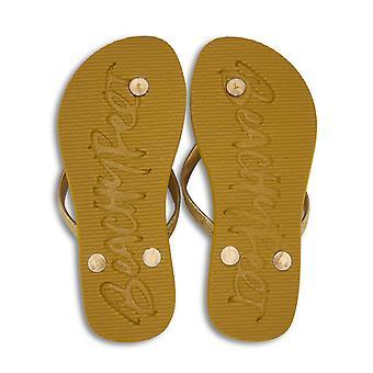 BeachyFeet Womens/Ladies Shimmer Flip Flops