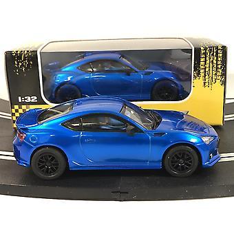 Subaru BRZ Metaliczny niebieski 1:32 Skala Policar CT1X
