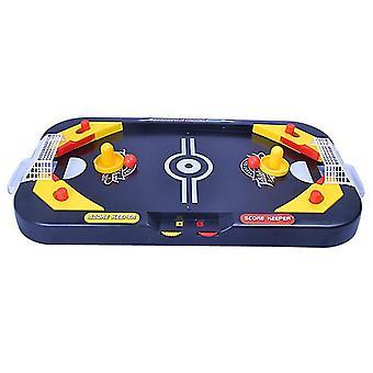 2 ב-1 מיני הוקי שולחן משחק, צעצוע המפלגה מקורה