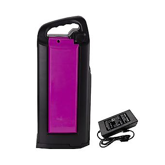 With Charger 48v 21ah 13s6p Ebike Battery Li-ion Electric Bicycle 420x160x98mm