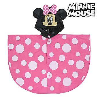 Waterproof Poncho with Hood Minnie Mouse 70483 Pink