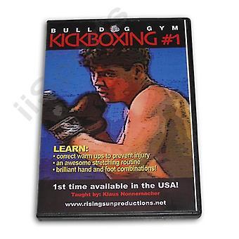 Bulldog Gym Kickboxing #1 Dvd Klaus Nonnemacher -Vd6764A