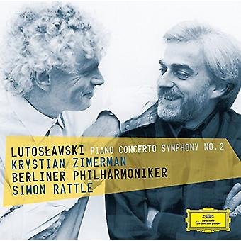 Zimerman/Rattle/Berl - Lutoslawski: Piano C [CD] USA import